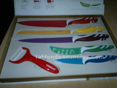 Cuchillos titanium