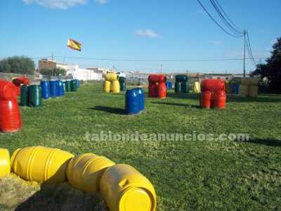 Campo de paintball