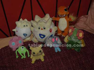 Peluches varios pokemon