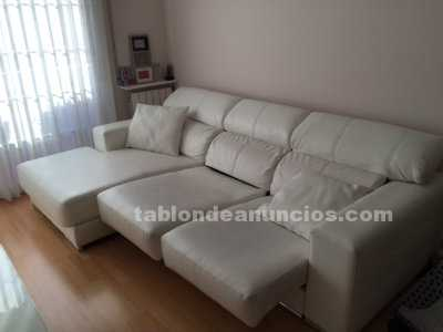 Tabl n de anuncios com sofa cheslong 3 plazas blanco for Cheslong dos plazas