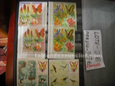 Coleccion  sellos  mundial