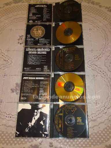 5 cd´s de 24 kt gold plated.originales.coleccion original master