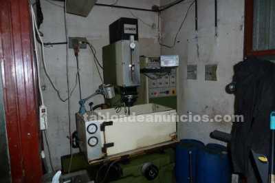 Maquinaria taller matriceria, mecanizados y moldes