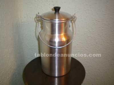 Lechera metálica de 2 litros