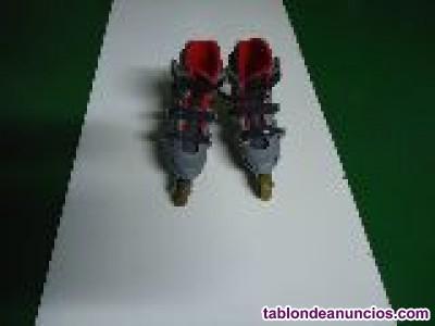 Botas patines para niños