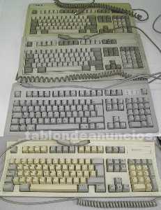 Teclados y ratones mac - antiguos