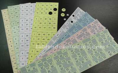 Cartones para bingo - series 960 cartones