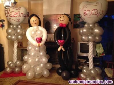 Decoración con globos y tienda de globos online