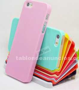 Carcasa pl�stico para iphone 5 y 5s colores diversos
