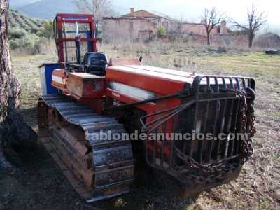 Tabl n de anuncios com tractor de cadenas new holland for New holland 72 85