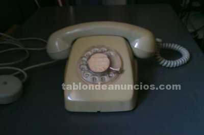Vendo telefono antiguo blanco