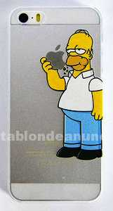 Carcasa homer para iphone 5 y 5s