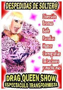 Espectaculo transformista drag queen antiboy show despedidas soltero soltera