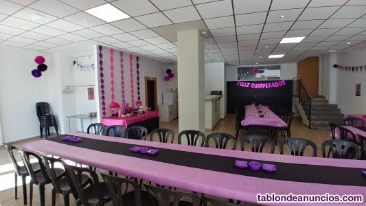 Alquiler de sala de reuniones, local para eventos privados 100 m2