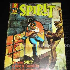 Comic spirit nº 10 año 1976-garbo