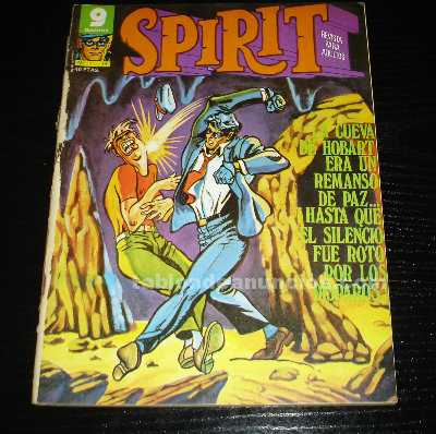 Spirit nº 14-comic- año 1976-garbo