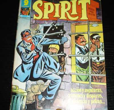Spirit nº 20-comic- año 1977-garbo