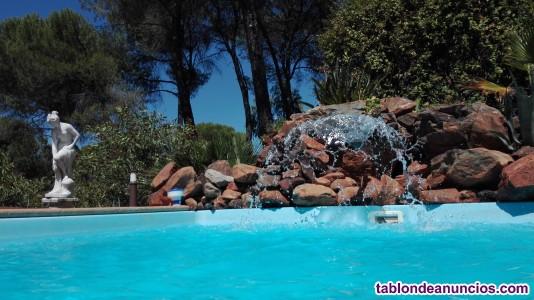 Proyecto rural, finca 4 casas,salón,piscina....