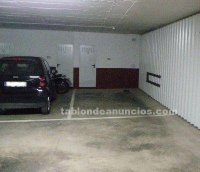 Amplia plaza de garaje con trastero en el Centro de Sevilla