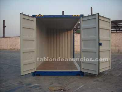 Venta de contenedores marítimos 20´High Cube Open Side