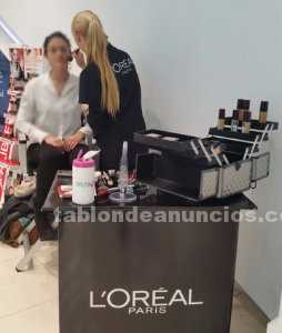 Maquilladora profesional loreal paris. Make up parties