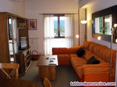 Apartamento dúplex de tres dormitorios y dos baños en villanúa