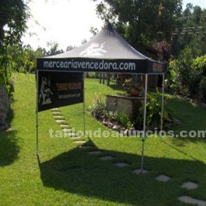 Carpa 3x3 plegable - aluminio