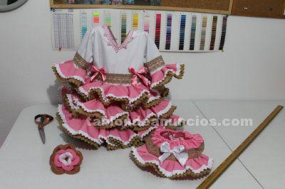 Vestidos de flamenca para ni�as