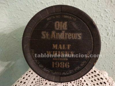 Botella barril whisky Old St. Andreus