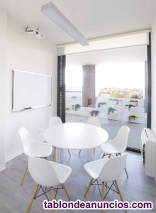 Sala de reuniones en centro de negocios