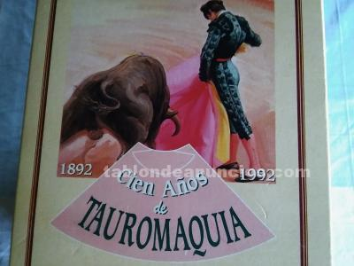 100 a�os de tauromaquia 1892-1992
