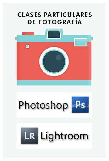 FOTÓGRAFO PROFESIONAL IMPARTE CLASES PARTICULARES DE PHOTOSHOP Y LIGHTROOM