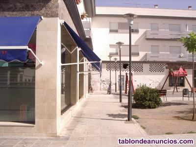 Local con apertura a dos calles