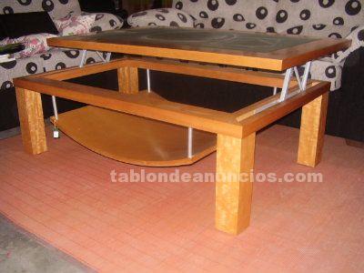 Tabl n de anuncios com mesa de centro elevable con fotos muebles - Muebles de segunda mano en badajoz ...