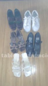 Zapatos de mujer (5 pares) talla 41