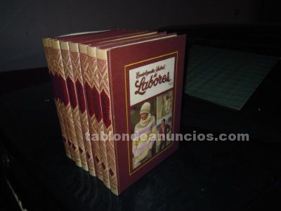 Enciclopedia salvat de labores (8 tomos )