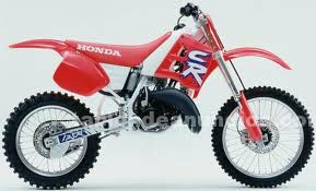 Despiece honda cr 125
