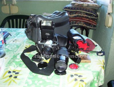 Pentax me super equipo completo