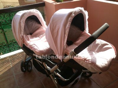 Carro gemelar jane twin two