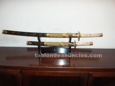Conjunto espadas japonesas