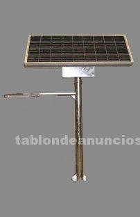 Energía renovable, fabricante de farolas solares
