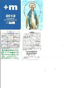 Calendarios de bolsillo, a elegir temas, series, años, publicidad, etc..