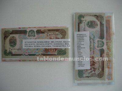 Billetes mundiales nuevos por lotes