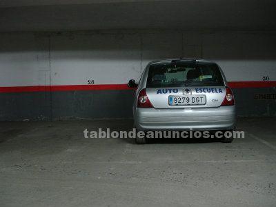Manoteras, plaza de garaje