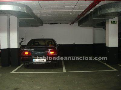 Pinar de Chamartín, 4 plazas de garaje