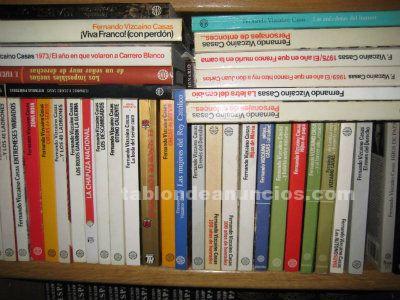 30 Novelas de Fernando Vizcaíno Casas
