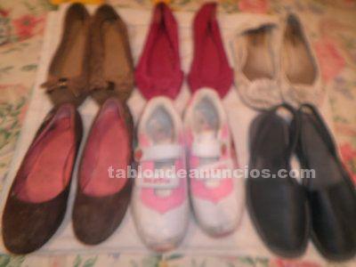 Zapatos de chica, tallas 35, 37 y 38. 6 pares por 5 euros