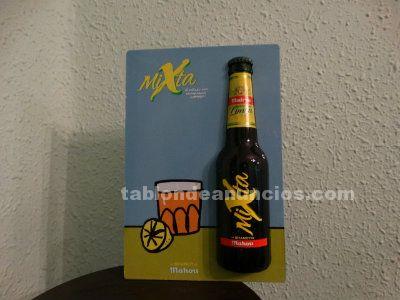 Abridor de barra cerveza Mahou-Shandy limón