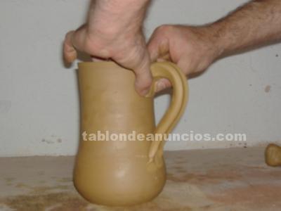 Cursos de cerámica: torno, esmaltes, cocciones