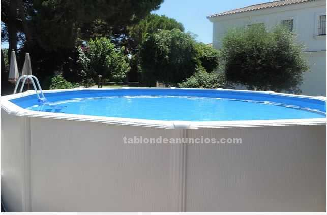 Tabl n de anuncios piscina portatil desmontable 5 5 for Piscina portatil grande